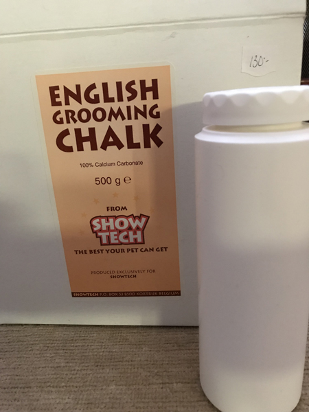 Grooming Powder, Show Tech Grooming Chalk, 500 g